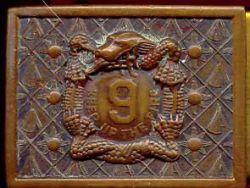 2of9 Manchu Belt Buckle