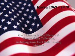 GARY CHESSER 1969-1970 KOREAN  PHOTO ALBUM