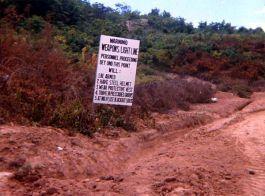 DMZ Sign
